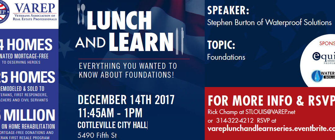 Join Us for a Lunch & Learn Realtor Event December 14