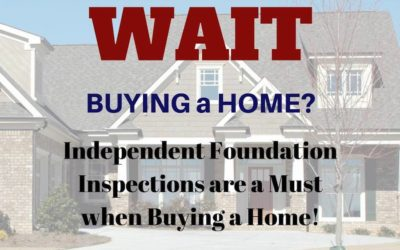 Our Foundation Inspections Could Save You Money
