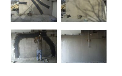 Waterproof St Louis Home Foundation Repair Education – Carbon Fiber Application Before and After