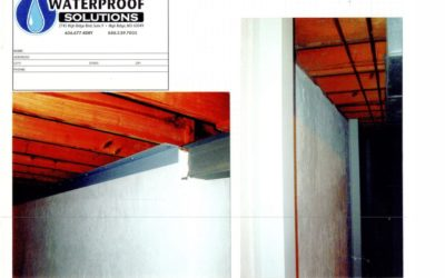 Waterproof Solutions St. Louis Home Foundation Repair Education – Angle Iron and Soldier Beam