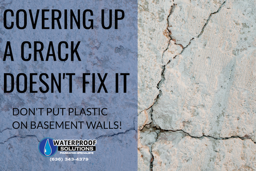 "Say ""No"" to Plastic on the Walls"