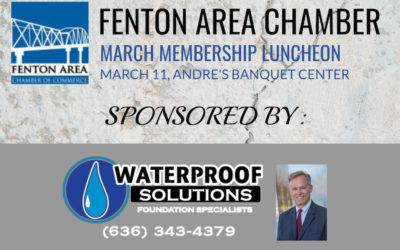 Fenton Chamber Luncheon – Sponsored by Waterproof Solutions StL