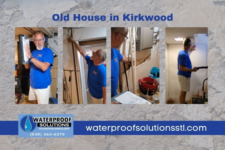 Basement Repair in Kirkwood